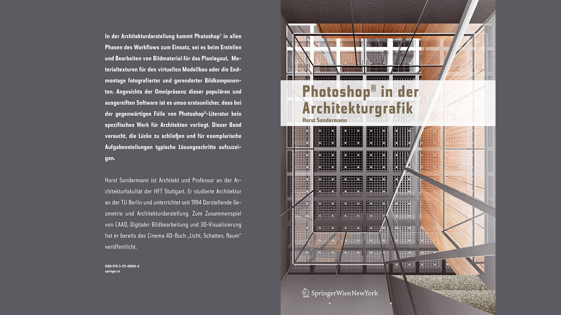 Photoshop in der Architekturgrafik