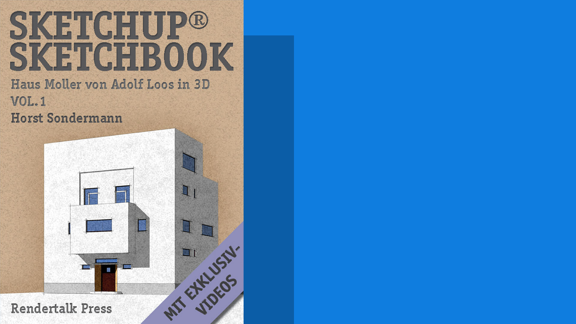 Horst Sondermann SketchUp Sketchbook Vol 1 Architektur Modell Ebook amazon deutsch 2011