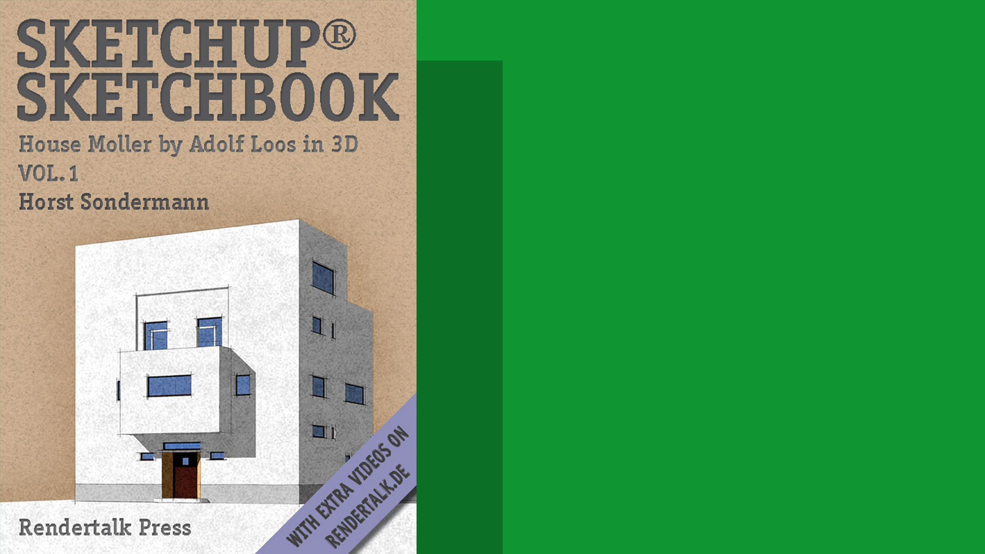 Horst Sondermann SketchUp Sketchbook Vol 1 Architektur Modell Ebook amazon english 2011