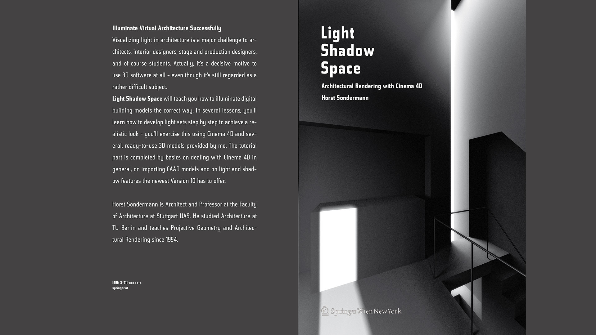Light Shadow Space - Architecture in Cinema4D - Horst Sondermann