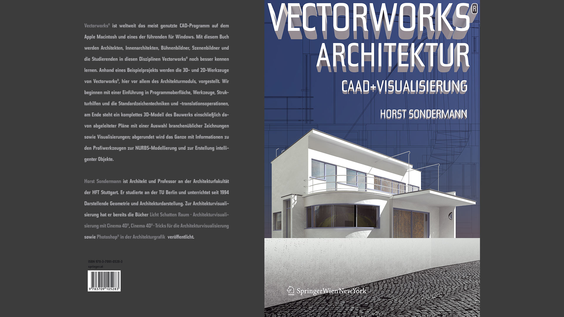 Horst Sondermann Vectorworks Architektur CAAD Visualisierung Buch Springer Publikation 2011