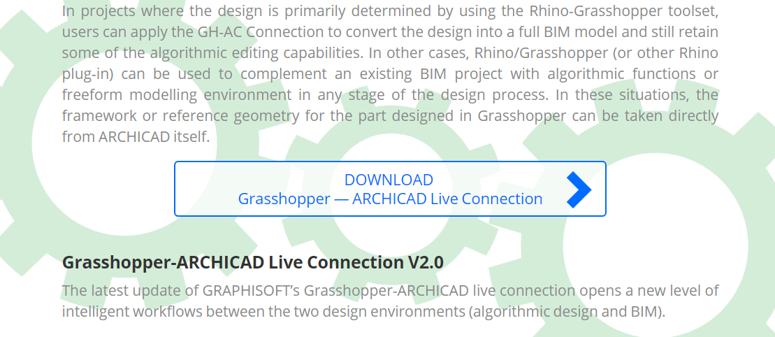 horst sondermann horstsondermanncom tutorial article basics learn teach professor rhino3d rhino grasshopper archicad connection plugin collaboration geometry bim parametric parametricism modeling parameter component setting favorite input output property classification