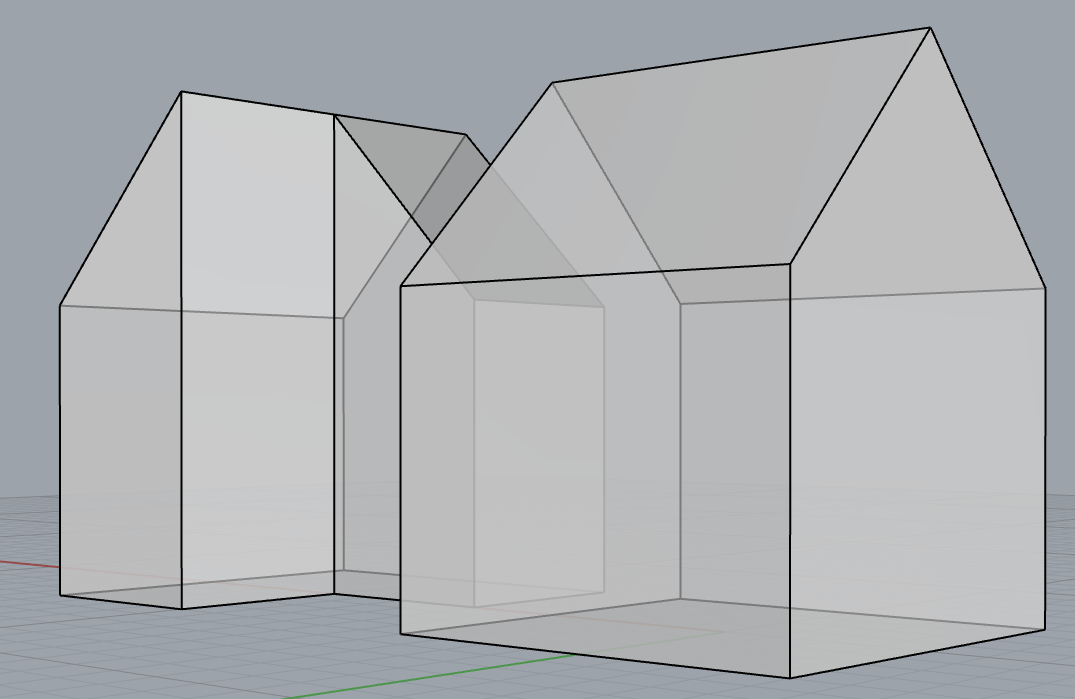 Rhino3d Basic House Model Horst Sondermann