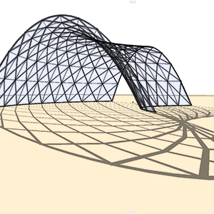 Grasshopper ARCHICAD: Freeform Surface Grid