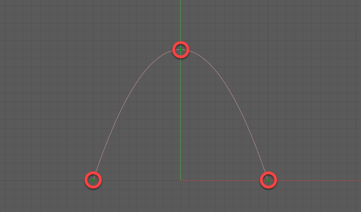3 Point Parabola in Grasshopper + Python
